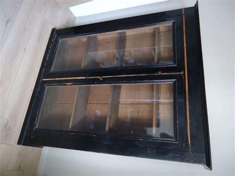 meuble cabinet de curiosite une vitrine relook 233 e dans un style cabinet de curiosit 233 s home by
