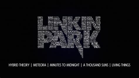 Linkin Park Typography Wallpaper - Typography HD