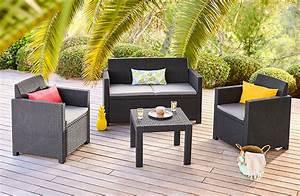 Salon De Jardin Romantique : mobilier de jardin salon de jardin table plancha d co ~ Dailycaller-alerts.com Idées de Décoration