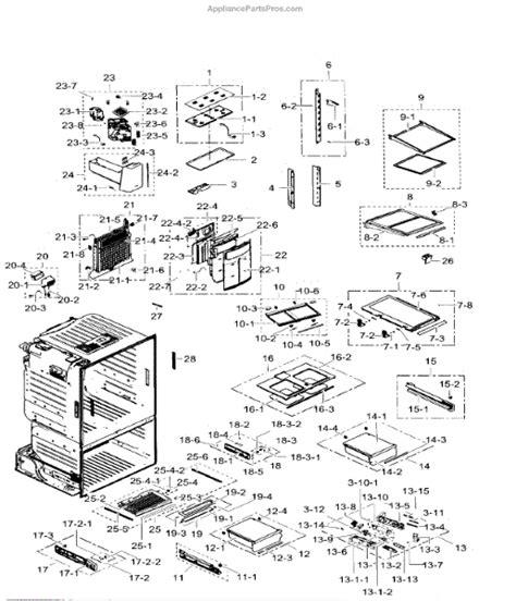 samsung rfabrs refrigerator schematic diagrams wiring