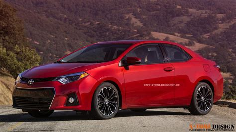 Toyota Coupes by 2014 Toyota Corolla Rendered As Coupe Autoevolution