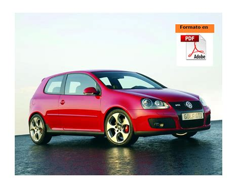 manual de mecanica y reparacion vw golf v desde 2004 pdf