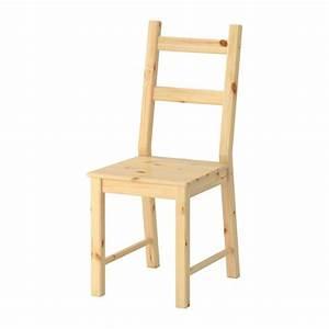 Chaise En Bois Ikea : ivar chaise ikea ~ Teatrodelosmanantiales.com Idées de Décoration