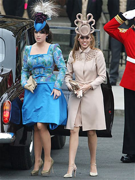 princesses beatrice  eugenie  wedding  top