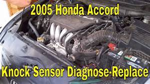 03 Honda Crv Knock Sensor Location