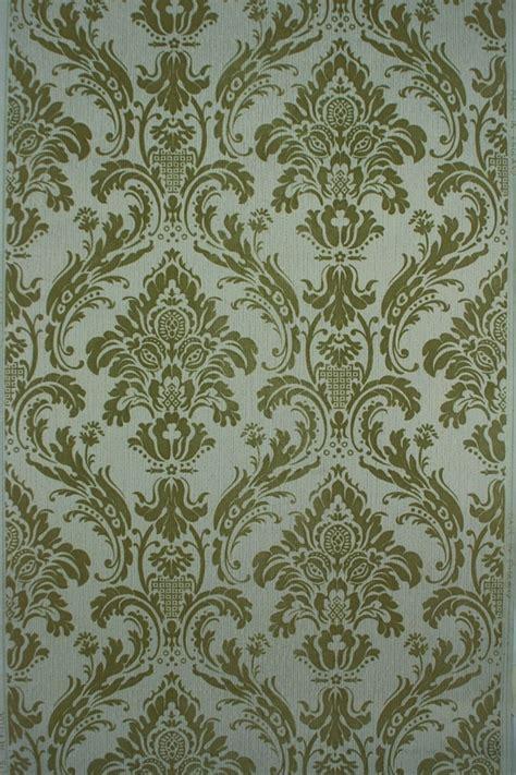 Tapeten Barock Stil by 1950s Flock Wallpaper Baroque Style