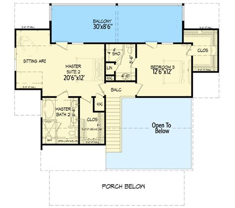house plans with 3 master suites three bed country home plan with two master suites 68434vr 1st floor master suite 2nd floor