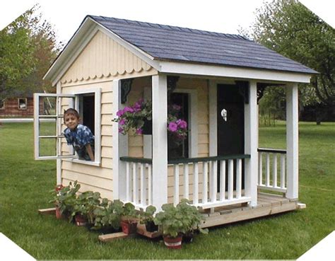 simple kids playhouse plans woodworking projects plans