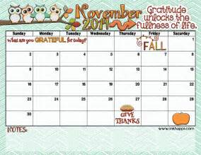 november 2014 calendar is here inkhappi