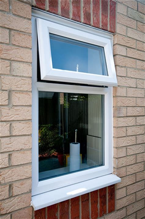 white pvc  square bay window  dummy sashes featuring