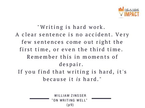 """writing Is Hard Work A"