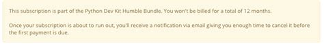 62461 Egghead Io Coupon by Pyup 1 Year Subscription Humble Bundle