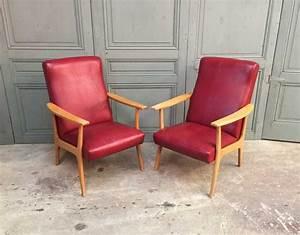 Fauteuil Années 50 : ancien fauteuil stella ann e 50 vintage ~ Dallasstarsshop.com Idées de Décoration
