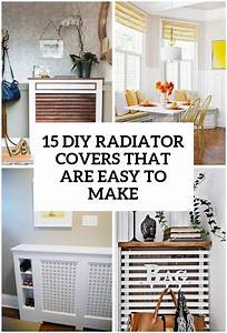 15 DIY Radiator Covers That You Can Easily Make - Shelterness