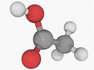 Vinegar  Acetic Acid  Molecular And Structural Formula