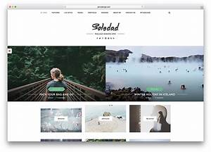 40 Best Minimalist WordPress Themes For Creatives 2018 ...