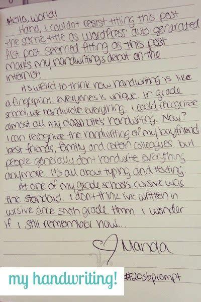 girly handwriting hand writing