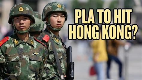 China Might Send Military to Hong Kong - YouTube