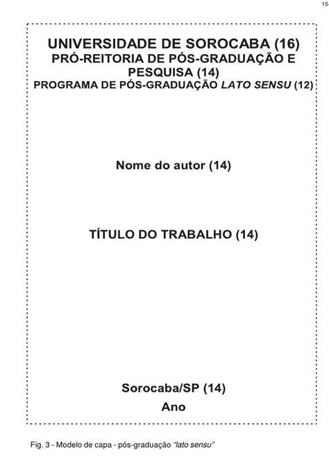 capa de trabalho nas normas abnt tcc monografia artigos normas abnt para trabalhos academicos