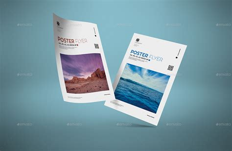 Flyer Mockup Free Flyer Mock Up In Psd Free Psd Templates