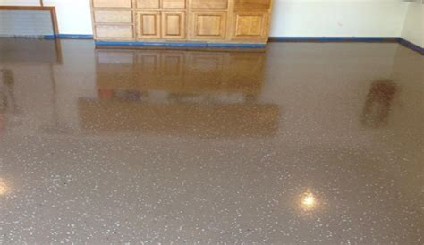 NWA DealPiggy   Stained Concrete or Epoxy Garage Flooring