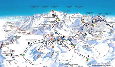 passo tonale web passo tonale pontedilegno adamello ski lugares de nieve