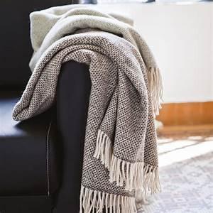 plaid laine alpaga merinos 130x170 cm andine gris graphite linnea linge de  maison et cc452f8c6f6