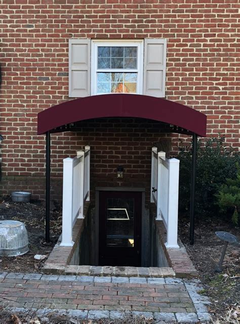 basement stairway entrance canopy residence kreiders canvas service