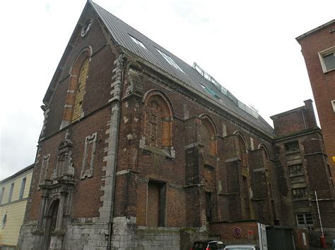 ancienne chapelle du coll 232 ge des j 233 suites actuellement salle sthrau 224 maubeuge pa00107747