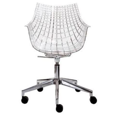chaise de bureau transparente fauteuil bureau transparent comparer 27 offres