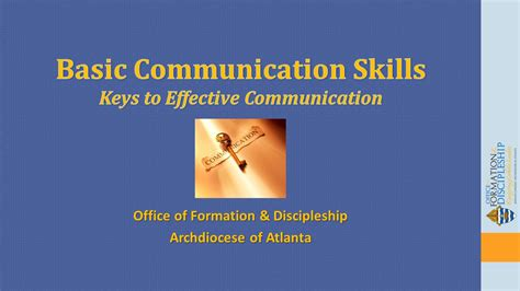 basic communication skillskeys  effective communication