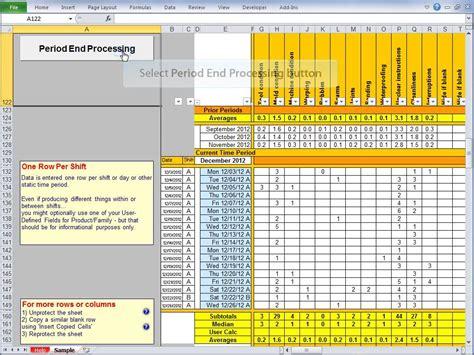Balanced Scorecard Excel Template  Calendar Template Excel