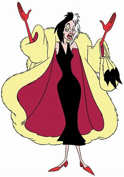 Cruella Vil Disney Clipart Happy Deville Dalmatians
