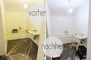 Oh What A RoomMein Bad Voller DIYs 1 Fliesen Streichen