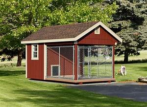 Wooden amish dog house dog kennel in oneonta ny amish for Amish dog kennel plans