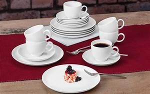 Kaffeeservice 18 Teilig : kaffeeservice lido in wei 18 teilig online bei hardeck kaufen ~ One.caynefoto.club Haus und Dekorationen