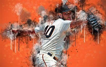 Madison Baseball Portrait Player Bumgarner 4k Wallpapers