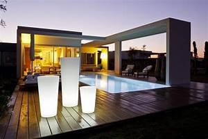 Eclairage Moderne : eclairage terrasse marie claire ~ Farleysfitness.com Idées de Décoration