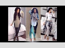 Moda 20172018 outfits para chicas 20172018 YouTube