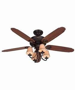 Hunter fan cortland inch ceiling with light