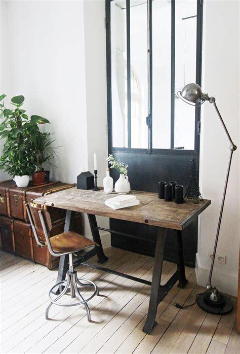 bureau vintage industriel verrière d 39 intérieur lapeyre verrière d 39 extérieur