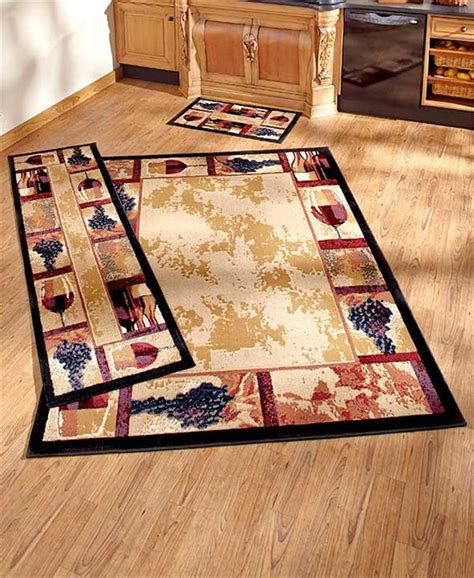 Rugs Home Decor by Decorative Wine Grape Themed Nonskid Area Accent Or Runner