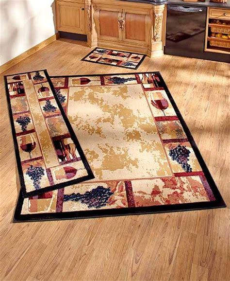 rug decor decorative wine grape themed nonskid area accent or runner