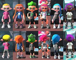 Splatoon 2 latest details pics GIFs (and more...) from the Squid Research Lab - Perfectly ...