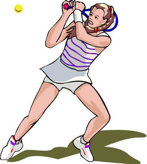 female tennis player vector clip art image   clip artcom