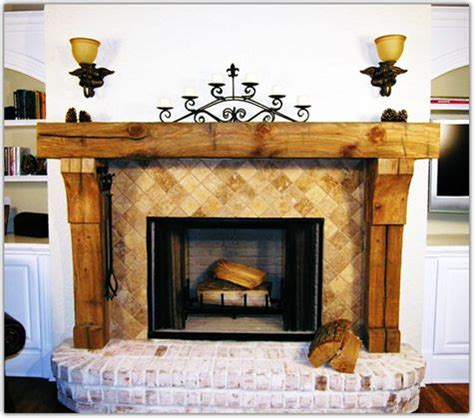 fireplace mantels   reclaimed wood blackford
