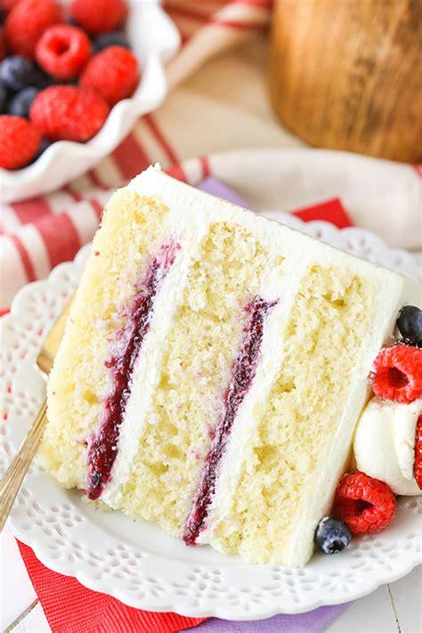 berry mascarpone layer cake life love  sugar