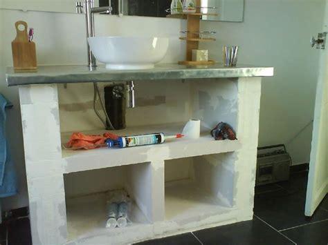 comment fixer une vasque sur un plan de travail 1000 id 233 es sur le th 232 me b 233 ton cellulaire sur brique r 233 fractaire bloc beton