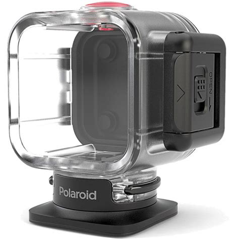 polaroid waterproof case  cube action camera polcwc bh