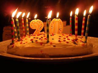 gambar foto kue ultah ke 20
